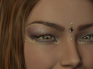 make-up bij carnaval