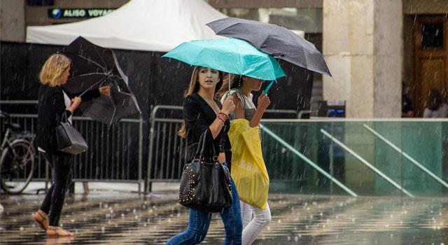 regenachtige lente
